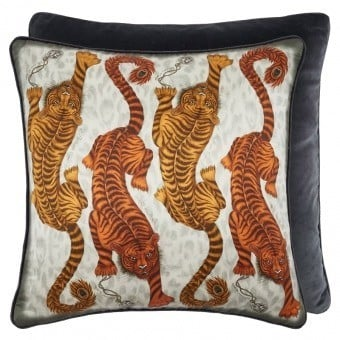 Tigris Cushion Gold Emma J. Shipley