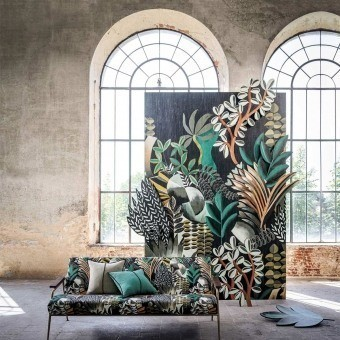 Giardini Fabric Céladon Casamance