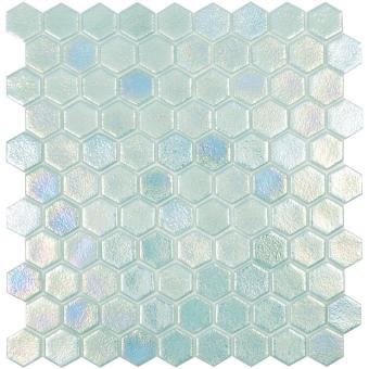 Shell Hex Mosaic Air Vidrepur