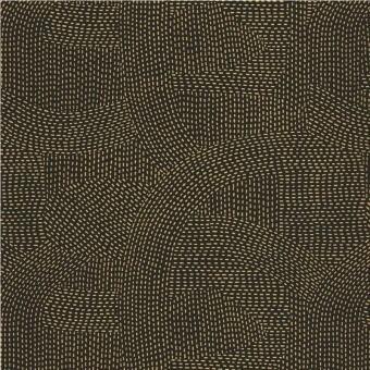 Franz Wallpaper Carbone/Métallisé Casamance