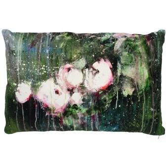 Vert Profond Cushion 30x50 cm Illustre