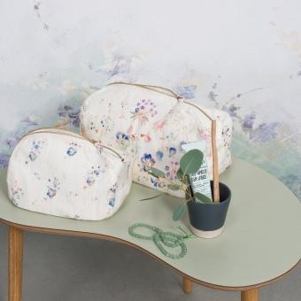 Pensées Travel bag 26x18 cm Illustre