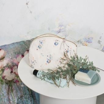 Trousse de toilette Myosotis 19x15 cm Illustre
