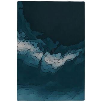 Tapis Fluid par Pernille Picherit Océan Codimat Collection