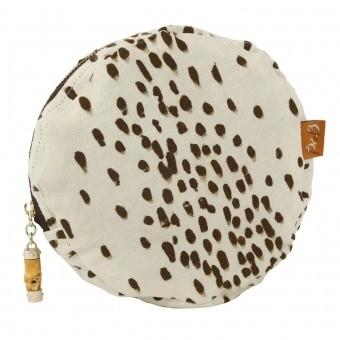 Tottenham Dalmatian Make up bag Cocoa Poodle and Blonde