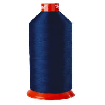 High tenacity polyester yarn Bobine 200 m - bleu bugatti Bruneel
