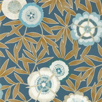 Komovi Wallpaper Azalea/Gilver Harlequin