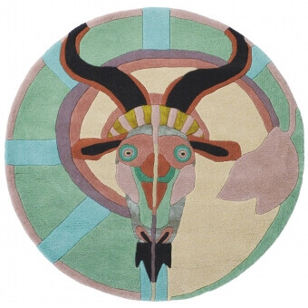 Zodiac Capricorn Rug diamètre 100 cm Ted Baker