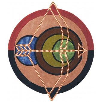 Zodiac Sagittarius Rug diamètre 100 cm Ted Baker