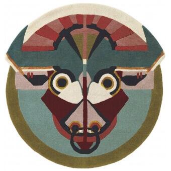 Zodiac Taurus Rug diamètre 100 cm Ted Baker