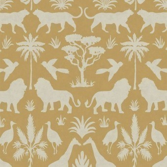 Savanna Wallpaper Yellow Eijffinger