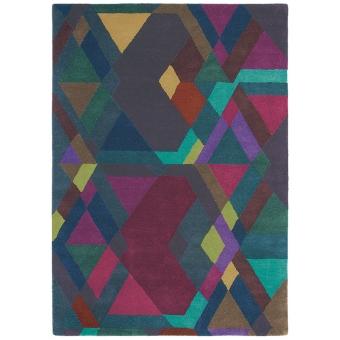 Mosaic Deep Purple Rug 140x200 cm Ted Baker