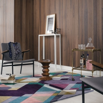 Mosaic Light Purple Rug 140x200 cm Ted Baker