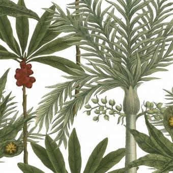 Madagascar Fabric Green/Red/White Mindthegap