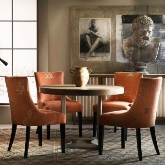 Kasbah Fabric Orange Andrew Martin