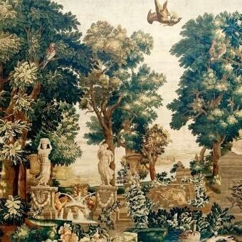 Fête Romaine Panel Vert Artwallz Paris