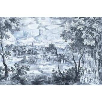 Panneau Mountain Mantra Monochrome Artwallz Paris
