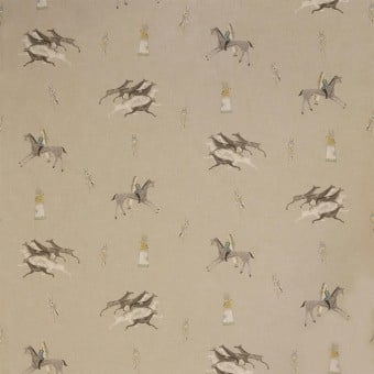 Great Plains Fabric Natural Andrew Martin