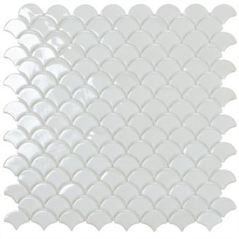 Soul Mosaic Matt white Vidrepur