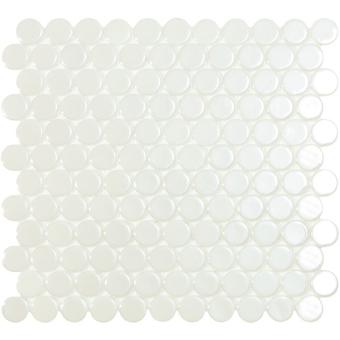 Circle Mosaic Matt black Vidrepur
