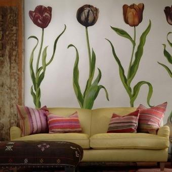 Tulips Panel Meadow Andrew Martin