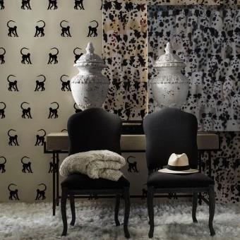 Cheeky Monkey Wallpaper Ebony Andrew Martin