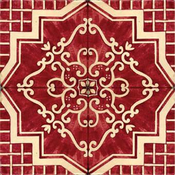 Bicolore Tile mur - épaisseur 1 cm Le Nid