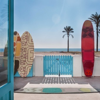 Tapis Surf Malibu 2 Beige Gan Rugs