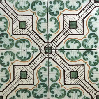 Giardino Tile Green Le Nid