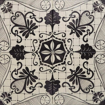 Multiplo Tile Nero Lava Le Nid