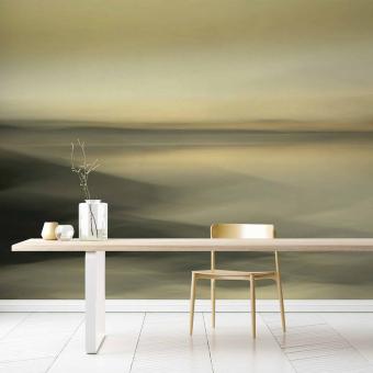 Panneau Golden Morning Sahara Artwallz Paris
