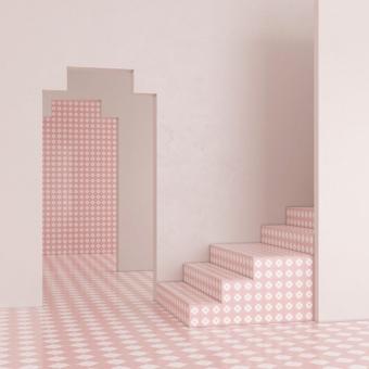 Courances cement Tile Céladon Beauregard Studio