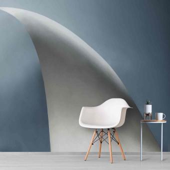 White Bow Panel Glacial Artwallz Paris