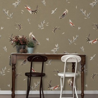 Verso Wallpaper French Grey Tres Tintas Barcelona