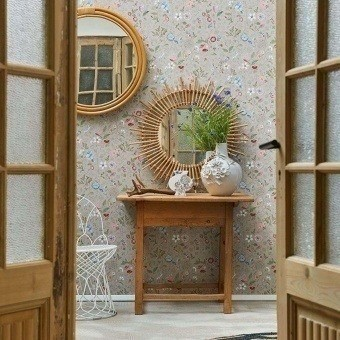 Spring to Life Wallpaper Khaki Pip Studio