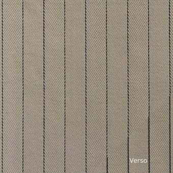 Tennis Stripe Fabric Leather Antoine d'Albiousse