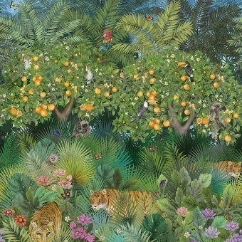 Tiger Grove Panel Garden Matthew Williamson