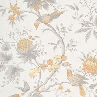 Brooke House Wallpaper Cinder Little Greene