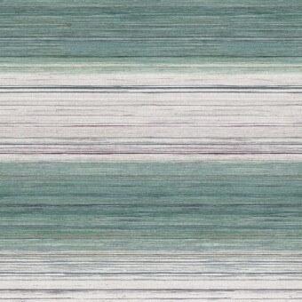 Kozo Stripe Wallpaper Bleu Osborne and Little