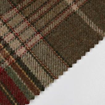 Hardwick Wool Throw Woodland Ralph Lauren