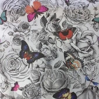 Papier peint Butterfly Garden Original/Foil Osborne and Little