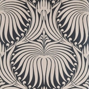 Papier peint Lotus Off black Farrow and Ball