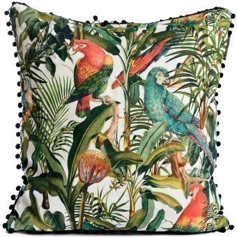 Parrots of Brasil Cushion Red/Yellow Mindthegap