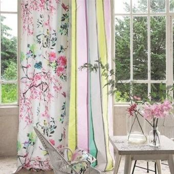 Tissu Chinoiserie Flower Peony Designers Guild