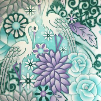 Garzas Wallpaper Aqua Catalina Estrada