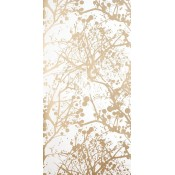 Papier peint Wilderness Gold/White Ferm Living