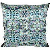 Coussin Jungle Fever Turquoise 40x40 cm Mariska Meijers
