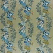 Tissu brodé Moser Wedgwood Royal Collection