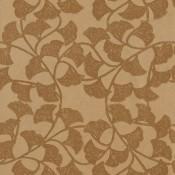 Papier peint Ginkgo Harvest Yellow Thibaut