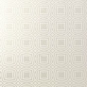 Papier peint Vancouver Metallic Silver Thibaut